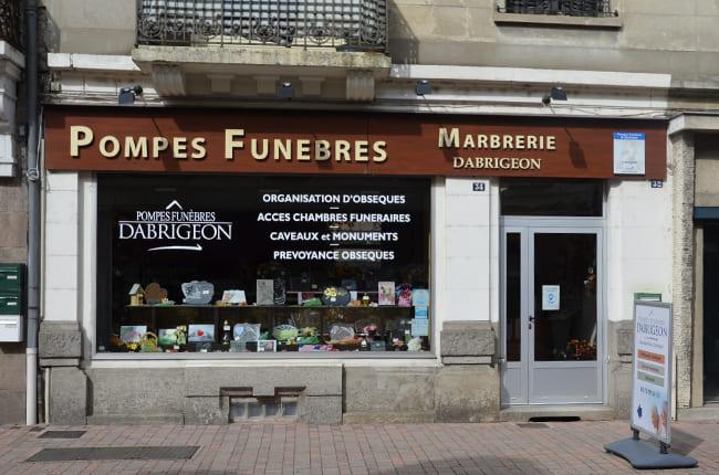 Pompes funèbres Dabrigeon à Lapalisse - Allier (03)